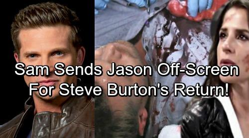 General Hospital Spoilers: Billy Miller's Jason Taken Off-Screen For Steve Burton's Return - Sam Puts Jason In An Institution