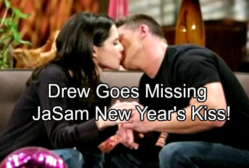 General Hospital Spoilers: New Year's Eve Shocker - Drew Goes Missing – JaSam Kiss