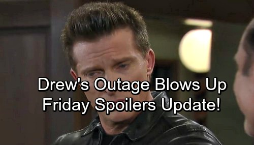 General Hospital Spoilers: Friday, January 5 Update – Dr. Obrecht on the Hot Seat– Carly Faces Drew's Fury – Nelle Confronts Ava