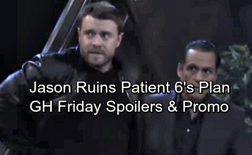 General Hospital Spoilers: Friday, October 20 – Jason Ruins Patient Six's Plan – Nathan Has News for Amy
