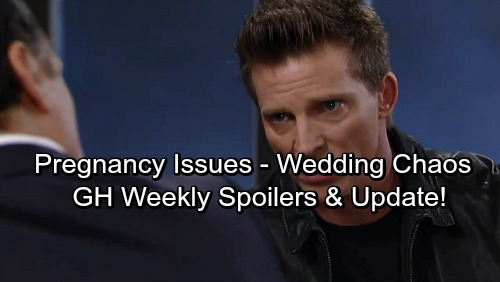 General Hospital Spoilers: Week of December 18 – Mysterious Threats, Pregnancy Problems, and Wedding Chaos
