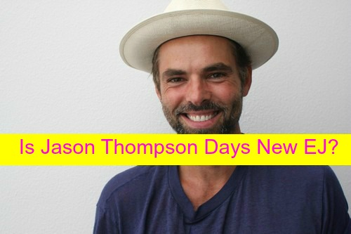 Days of Our Lives Spoilers: Is General Hospital's Jason Thompson Headed to DOOL as EJ DiMera Recast?