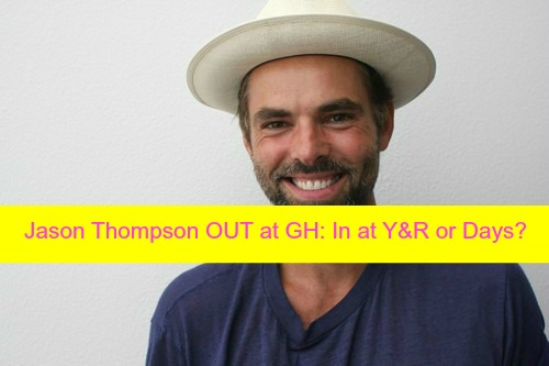 General Hospital Spoilers: Jason Thompson Official GH Exit - Moving to Y&R or Days - Says Goodbye on Instagram