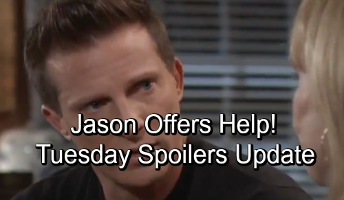 General Hospital Spoilers: Tuesday, October 16 Update – Ava's Fuse Is Lit – Helpful Jason - Kiki and Griffin's Hot Night
