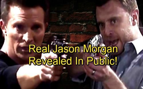General Hospital Spoilers: Week of November 27 - Real Jason Morgan Publicly Revealed - Shocker Brings Fights and Breakdowns