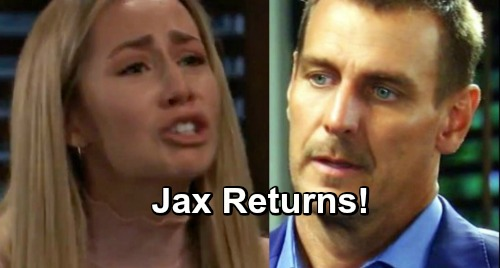 General Hospital Spoilers: Jasper Jacks Returns To Port Charles - Jax Helps Josslyn Deal With Oscar Drama?