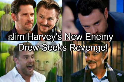 General Hospital Spoilers: Drew Faces New Enemy Jim Harvey – Shocking Cruelty Exposed Leads to Revenge