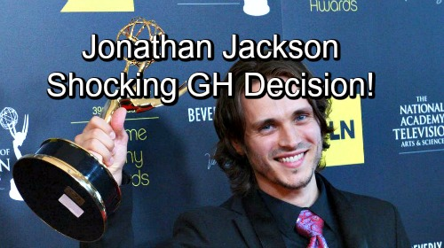 General Hospital Spoilers: GH Fans Shocked By Jonathan Jackson's Decision