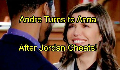 General Hospital Spoilers: Cheating Jordan Does It Again - Hooks up With Curtis – Andre Turns to Anna for Comfort