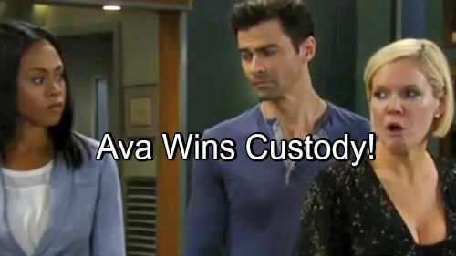 General Hospital Spoilers: Ava Wins Full Custody of Avery - Mike's Behavior Ruins Sonny's Chances