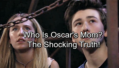 General Hospital Spoilers: Truth About Oscar's Mom Revealed, Carly and Sonny Shocked