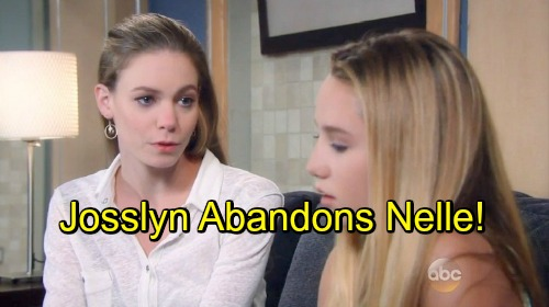 General Hospital Spoilers: Josslyn Realizes Nelle Betrayed Her – Morgan Cologne Discovery Crumbles Friendship, Sparks War