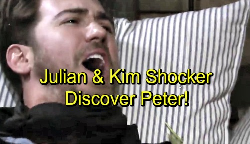 General Hospital: Julian and Kim Discover Peter – Camping Trip Shocker Brings Rescue and Major Drama