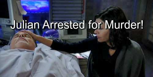 General Hospital (GH) Spoilers: Julian Arrested at Nurse's Ball for Duke Lavery Murder – One Year After the Assassination