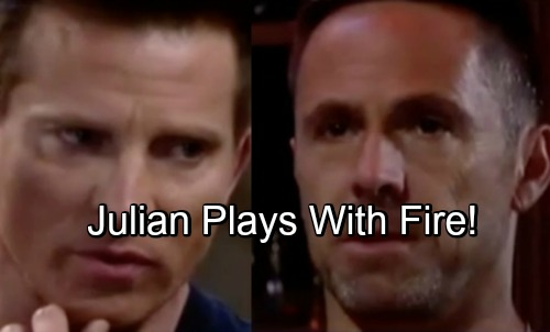 General Hospital Spoilers: Julian Learns Sonny's Shocking Secret – Plays Dangerous Game with the Enemy