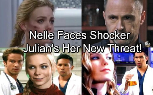 General Hospital Spoilers: Julian Emerges as Nelle's Surprise Threat – Discovers Anonymous Birth Mom Plan, Forces Baby Deal