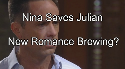 General Hospital (GH) Spoilers: Nina Lies For Julian's Alibi as Alexis Pushes Mobster Away – New Romance Brewing?