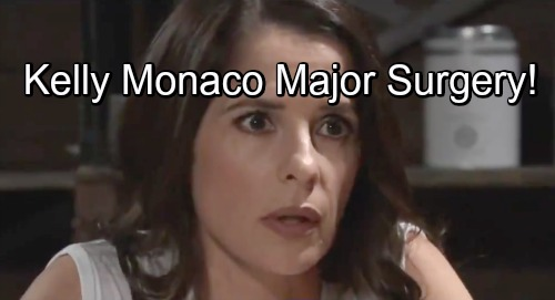 General Hospital Spoilers: Kelly Monaco Has Major Surgery - Will Sam's GH Filming and On-Screen Schedule Be Affected?