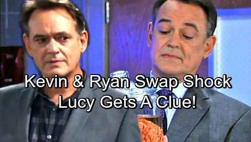 General Hospital Spoilers: Kevin and Ryan Swap Shocker – Good Doc Held Hostage, Lucy Senses 'Kevin' Isn't Quite Himself