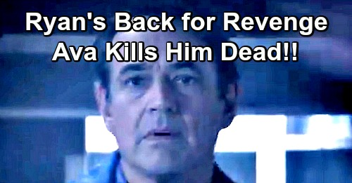 General Hospital Spoilers: Ryan Back for Final Revenge, Takes Over Kevin's Life Again - Ava's Deadly Wrath Derails Plan?