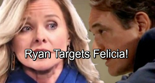 General Hospital Spoilers: Ryan Dupes Lucy, Sets Stage For Ultimate Target – Felicia's World Turned Upside Down