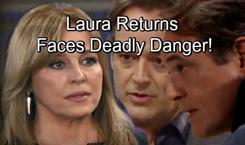 General Hospital Spoilers: Laura Works to Solve Kevin Mystery, Ryan's Out for Blood – Danger and Intrigue Explode in Comeback Story