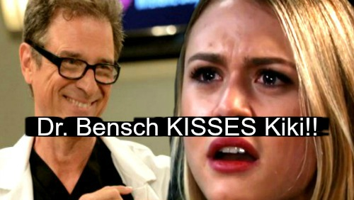 General Hospital Spoilers: Week of March 19 - Dr. Bensch Plants a Kiss on Kiki – Crosses the Line with Creepy Shocker