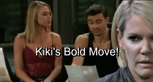 General Hospital Spoilers: Kiki Can't Resist Griffin, Makes a Bold Move for Love – Ava Drama Can't Stop Blooming Romance