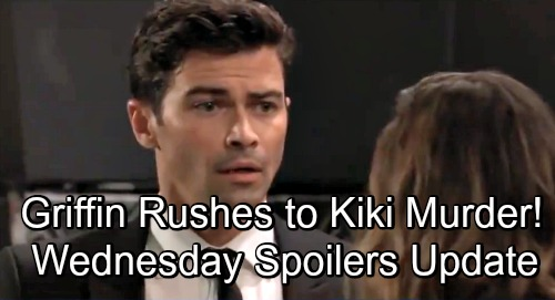 General Hospital Spoilers Wednesday November 28 Update Griffin