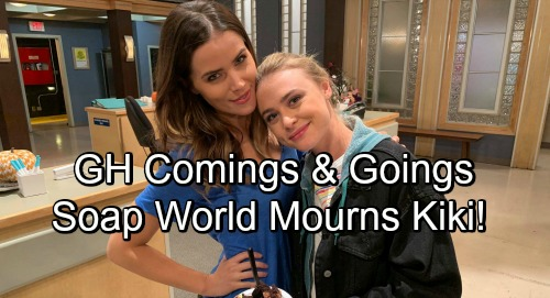 General Hospital Spoilers: Comings and Goings – Soap World Mourns Loss of Kiki - Hayley Erin Exits