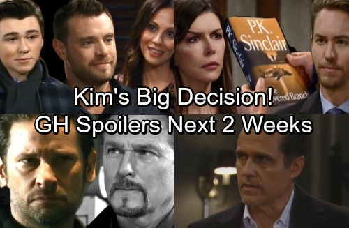 General Hospital Spoilers for Next 2 Weeks: Sonny's In Trouble – Spinelli's Tight Spot – Kim's Big Decision – Drew Takes Charge