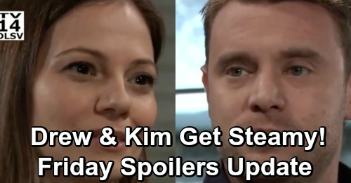General Hospital Spoilers: Friday, December 28 Update – Ryan Plants Murder Victim, Peyton Corpse Chaos – Drew and Kim Get Steamy