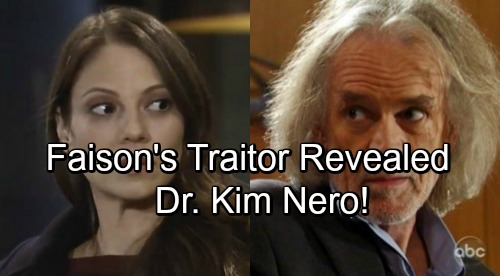 General Hospital Spoilers: Kim Is Faison's Traitor - Lives in Fear, Shocking Secrets Revealed