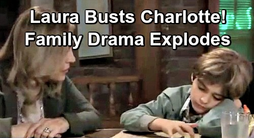 General Hospital Spoilers: Laura Realizes That Charlotte Is Bullying Aiden - Family Drama Explodes