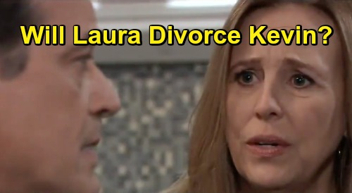 General Hospital Spoilers: Will Laura Divorce Kevin Over Devastating Ryan Betrayal – Can't Get Past Lives Lost and Lulu's Horror?