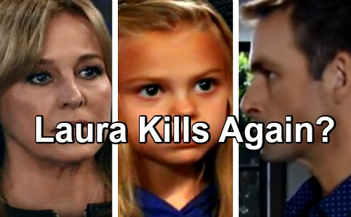 General Hospital Spoilers: Will Laura Murder Valentin - Second Killing For Desperate Grandmother?