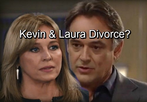General Hospital Spoilers: Lonely Kevin's at a Crossroads – GH Planning Laura Reunion or Divorce?