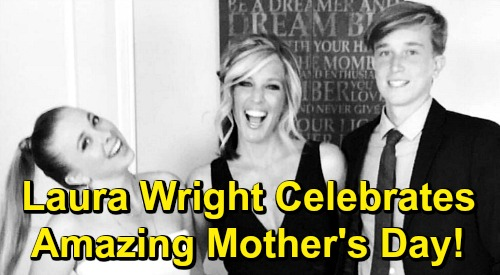 General Hospital Spoilers: Laura Wright Celebrates Amazing Mother's Day