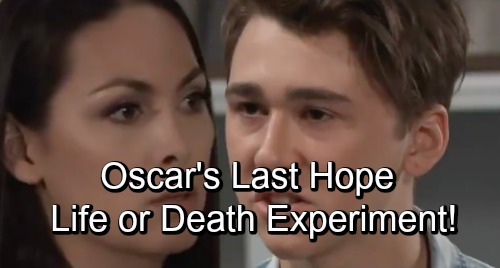 General Hospital Spoilers: Risky Experimental Trial Brings Oscar's Terrifying Choice - Quick Death or Possible Cure