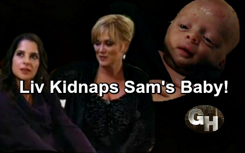 General Hospital Spoilers: Olivia Kidnaps Sam – Plans to Steal JaSam Baby to Punish Julian and Jason
