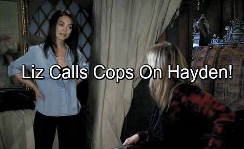 General Hospital (GH) Spoilers: Liz Wants to Call Cops on Rachel Berlin - Frantic Laura Tries to Stop Her