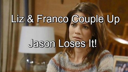 General Hospital (GH) Spoilers: Jason Rages as Liz and Franco Get Closer, Become a Couple