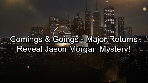 General Hospital Spoilers: Comings and Goings – Major Returns Spinelli and Britt Play Crucial Roles In Jason Morgan Mystery
