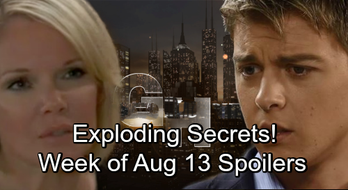 General Hospital Spoilers: Week of August 13-17 – Crushing Betrayals, Fierce Showdowns and Exploding Secrets