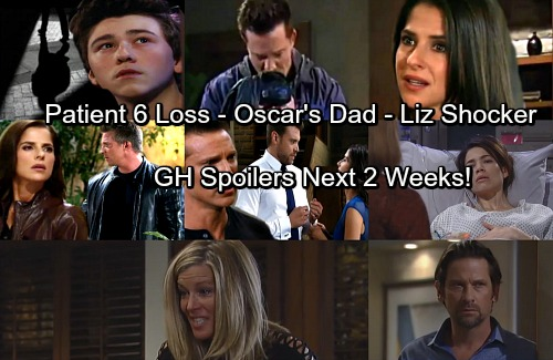 General Hospital Spoilers: Next 2 Weeks - Patient 6 Copes with Loss – Jason's Big News – Liz Gets a Shock – Maxie Makes a Mess