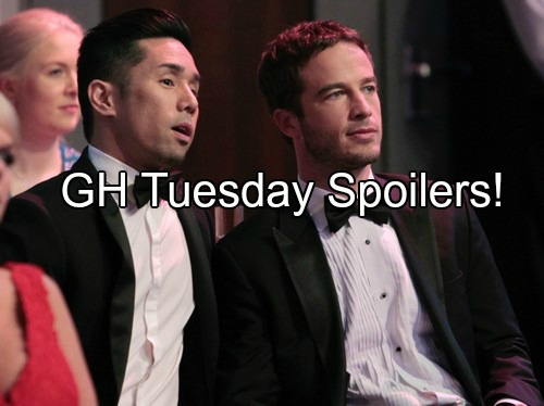 General Hospital (GH) Spoilers: Nurses Ball Red Carpet - Lucas in Danger, Wedding at Risk – Jason and Nikolas Face Off