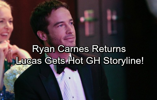 General Hospital Spoilers: Ryan Carnes Back on GH Set – New Shocking Lucas Scenes Coming Soon