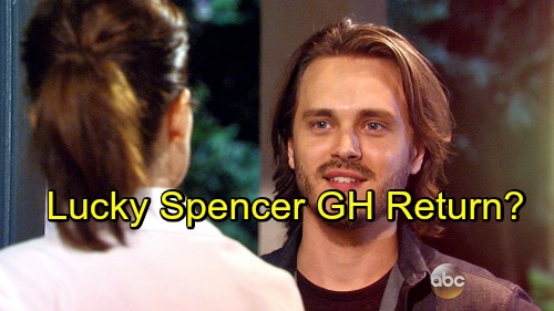 General Hospital Spoilers: Jonathan Jackson Talks About Lucky Spencer's Possible GH Return