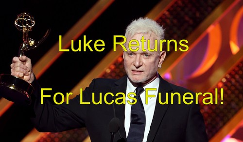 General Hospital (GH) Spoilers: Luke Spencer Returns for Lucas Jones Funeral - Will Anthony Geary Stick Around PC?