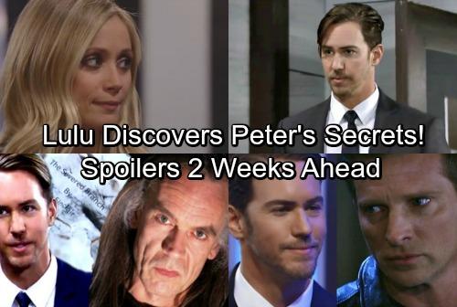 General Hospital Spoilers: Two Weeks Ahead - Lulu Discovers Peter's Dark Secrets – Sinister Boss Turns Against Her